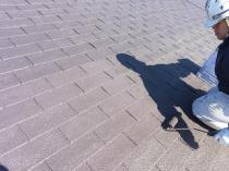 横浜市 港南区 屋根 塗り替え 上塗り2回目 シリコン リフォーム