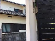 玄関 扉枠 塗り替え 施工後 神奈川