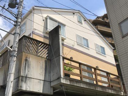 横浜市中区M様邸|ダイヤモンドコート外壁塗装