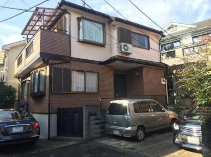 横浜市神奈川区H様邸施工事例|ダイヤモンドコート外壁塗装