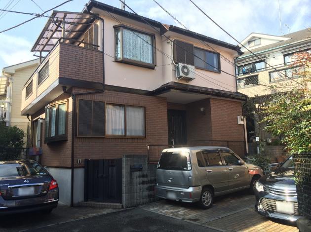 横浜市神奈川区H様邸ダイヤモンドコート外壁塗装後写真