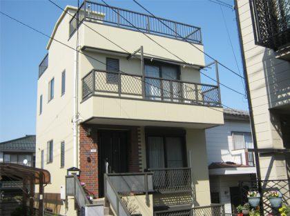 横浜市神奈川区S様邸施工事例|ダイヤモンドコート外壁塗装