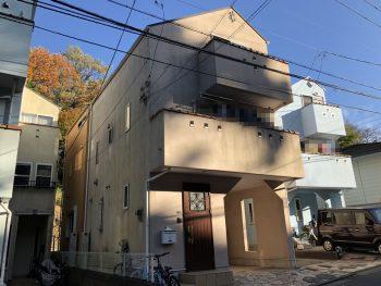 横浜市 住宅 塗り替え 外壁 施工前