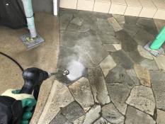 横浜市 住宅塗装 玄関ポーチ 高圧洗浄