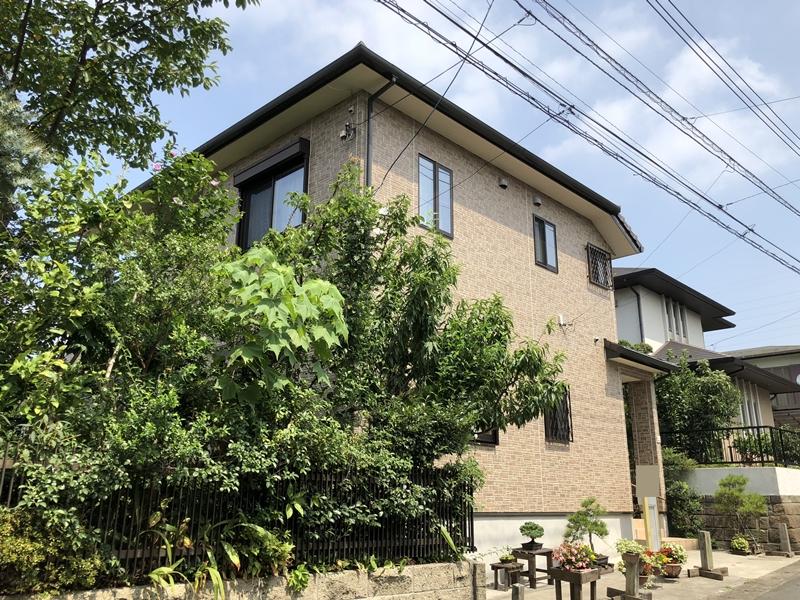 住宅塗装 横浜市 栄区 リフォーム 戸建て 外壁塗装 付帯部塗装 シーリング
