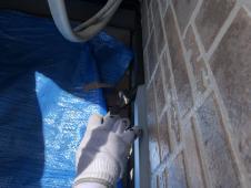 住宅 塗り替え 水切り塗装 シリコン 人気 長持ち 口コミ 上塗り1回目