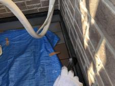 水切り塗装 上塗り2回目 シリコン 評判 持続 人気