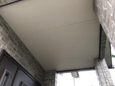 住まい リフォーム 塗り替え 戸建 施工前 軒天