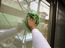住宅塗装 リフォーム 横浜市 栄区 窓清掃