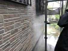 外壁 藻 カビ 高圧洗浄 塗り替え リフォーム 塗装専門店