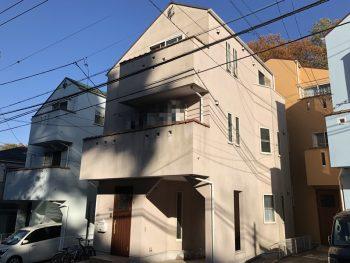 外壁塗装 施工前 横浜氏 磯子区 戸建て リフォーム