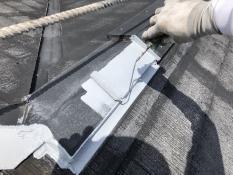 横浜市 港南区 屋根塗装 棟板金 リフォーム 錆止め 長持ち