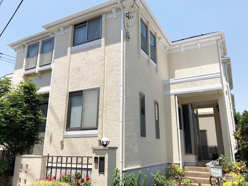 住宅 塗り替え 横浜市 リフォーム 外壁 屋根 付帯部 日本ペイント ダイヤモンドコート