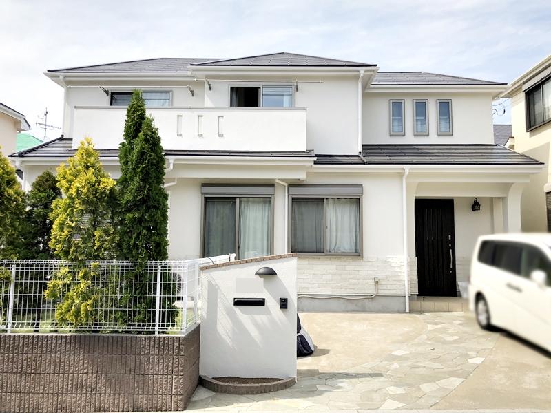 外壁塗装 屋根塗装 横浜市 施工後 日本ペイント インディフレッシュセラ