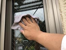塗装工事 窓拭き 横浜市 神奈川区 住宅 リフォーム