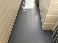 FRP ベランダ 防水保護塗装 施工後 横浜市 栄区
