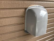 横浜市 栄区 住宅塗装 換気フード 塗り替え シリコン 施工後