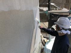 外壁塗装 下塗り 水性 横浜市 港南区 リフォーム 認定施工店