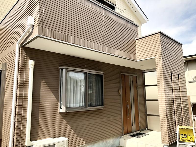 横浜市 栄区 ダイヤモンドコート 外壁 リフォーム 塗り替え 屋根