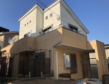 横浜市 外壁塗装 施工前 栄区 戸建て