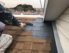住宅塗装 屋根 塗り替え リフォーム 下塗り