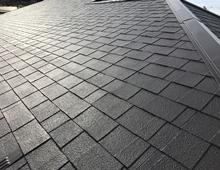遮熱塗装 屋根 リフォーム 上塗り2回目 日本ペイント