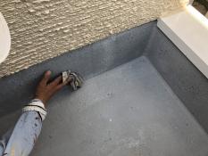 神奈川区 リフォーム 防水塗装 保護塗装 ベランダ リフォーム 清掃