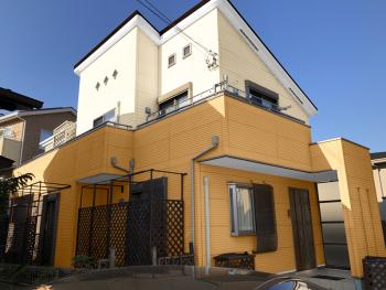 外壁 塗り替え カラーシミュレーション 横浜市 栄区