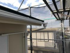 軒樋塗装 横浜市 港南区 施工後 人気 日本ペイント シリコン