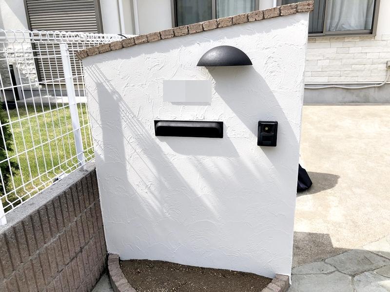 住宅 リフォーム 塀塗装 シリコン 横浜市 戸塚区