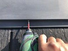 屋根 塗り替え 棟板金 ビス止め 横浜市 リフォーム