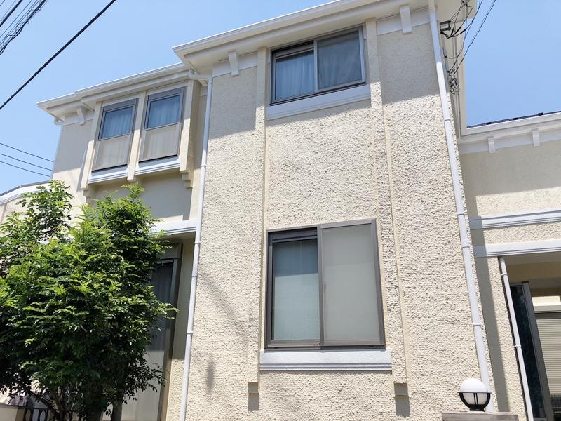 ダイヤモンドコート 横浜市 住宅塗装 施工後
