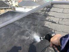 横浜市 神奈川区 屋根塗装 高圧洗浄