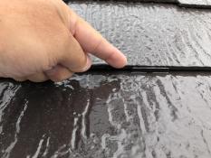屋根塗装 縁切り 横浜市 タスペーサー 住宅塗装 遮熱塗料