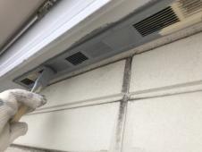 横浜市 塗り替え 軒天換気口 錆止め塗装 栄区 戸建て
