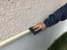 水切り塗装 ケレン 横浜市 リフォーム 神奈川区 戸建