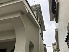 戸塚区 戸建住宅 リフォーム 施工前 軒天 外壁 破風 樋
