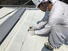 横浜市 塗り替え 屋根 縁切り タスペーサー