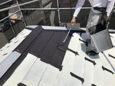 住宅塗装 横浜市 戸塚区 屋根 塗り替え リフォーム 日本ペイント 遮熱塗料