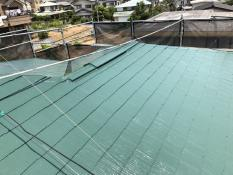 住宅塗装 屋根塗装 棟板金 日本ペイント サーモアイ 遮熱 エコ 口コミ 人気 施工後