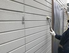 横浜市 外壁塗装 下塗り リフォーム 戸建て
