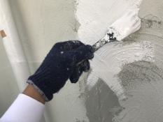 外壁塗装 パターン補修 下地処理 美観 横浜市 住宅塗装 戸塚区