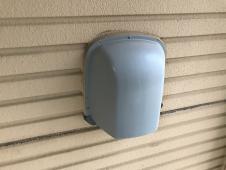 横浜市 栄区 住宅塗装 施工前 換気フード 塗り替え