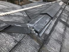 屋根塗装 棟板金 塗り替え 施工前 横浜市 港南区 劣化 塗膜 剥がれ