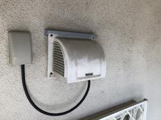 換気フード 塗り替え 施工前 横浜市 住宅塗装