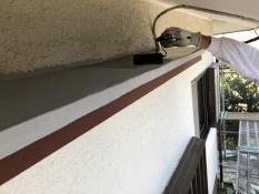 横浜市 栄区 住宅塗装 霧除け庇 シリコン リーズナブル