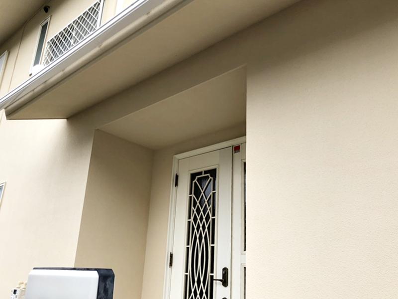 外壁塗装 横浜市 玄関 リフォーム 施工後