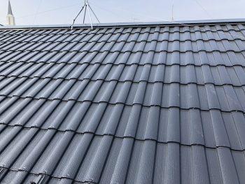 横浜市 瀬谷区 戸建住宅 乾式コンクリート モニエル 瓦 塗り替え リフォーム 遮熱 施工後