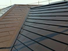 屋根塗装 横浜市 遮熱塗料 施工後