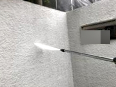 横浜市 塗り替え 塀 高圧洗浄